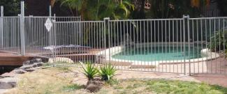 Pool Hire temp fence